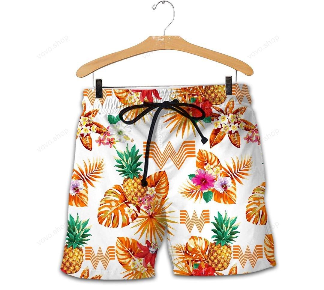 Whata Hawaiian Shirt And Short1