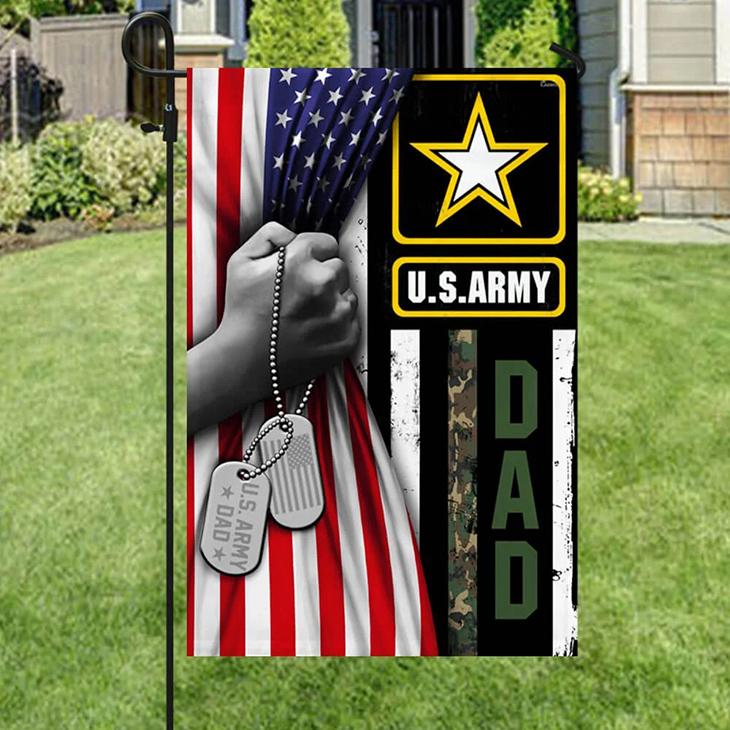 American U.S Army Dad Veteran Flag3 1