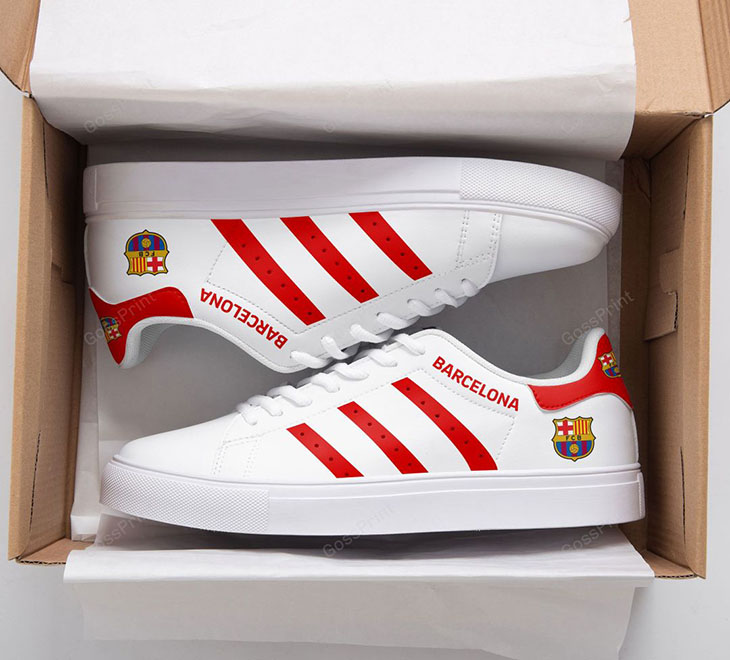 BARCELONA Logo Stan Smith Low top Shoes