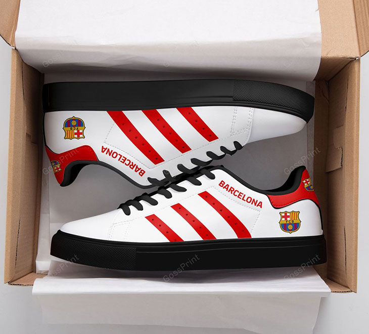 BARCELONA Logo Stan Smith Low top Shoes1