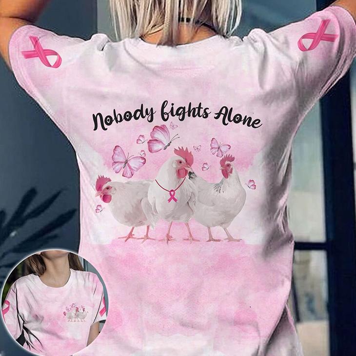 Chicken Nobody Lights Alone 3D TShirt