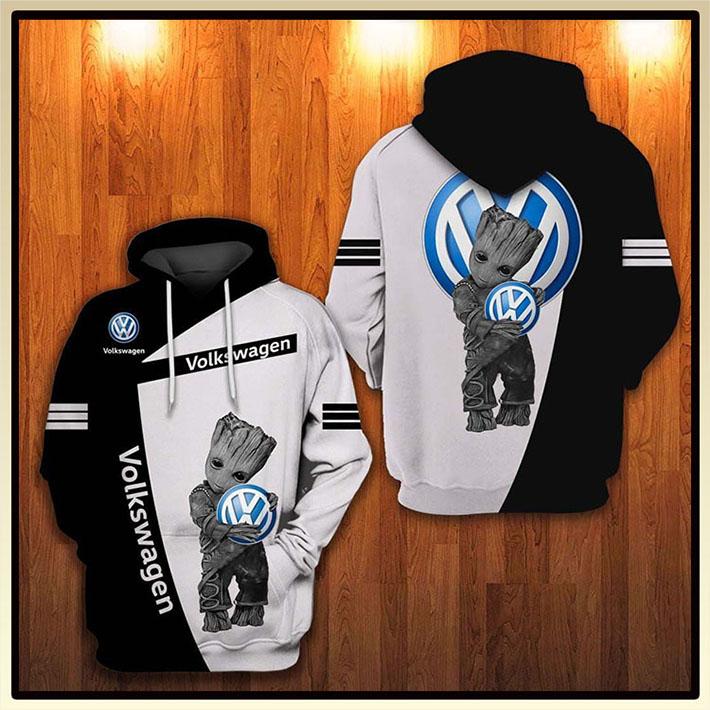 Groot Volkswagen Logo 3D Hoodie3 1