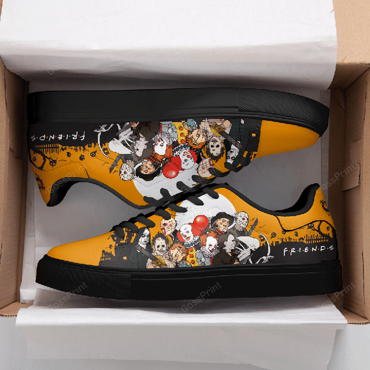 Halloween Horror Logo Stan Smith Low top Shoes1 1