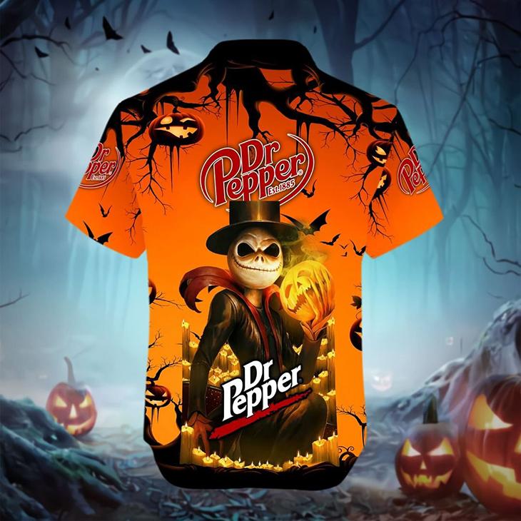 Halloween Jack Skellington Dr Pepper Est 1885 Logo 3D Hoodie Shirt6