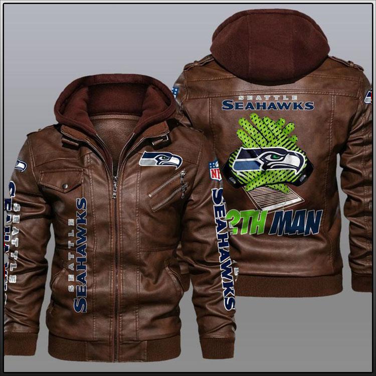 Seattle Seahawks 12th Man Leather Jacket3
