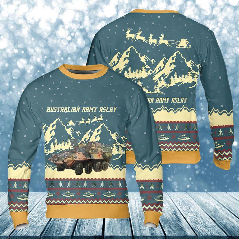 Australian Army Christmas Ugly Sweater