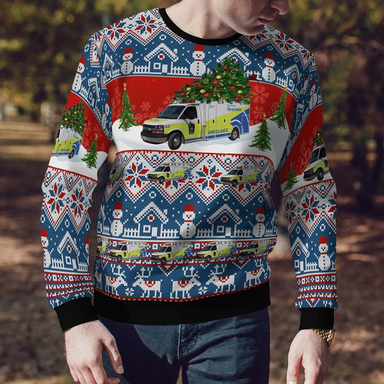 Canada Grey County Paramedics Sweater Sweatshirt3 1