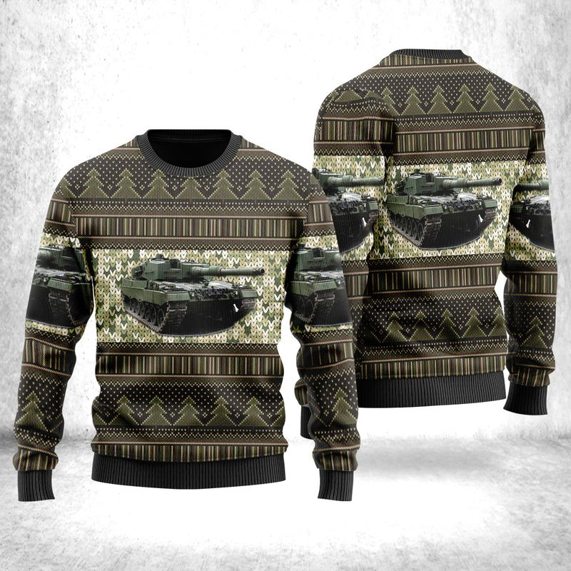 Canadian Army Leopard 2A4M Ugly Sweater