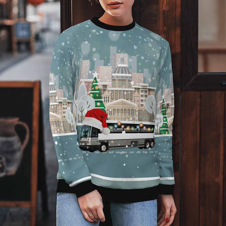 Illinois Department Of Corrections Sweater Sweatshirt3 1