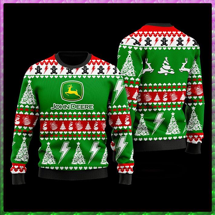 John Deere Ugly Christmas Sweater7