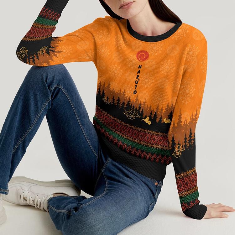 Naruto Kyubi Christmas Sweater Sweatshirt4